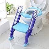 BAMNY Töpfchentrainer Toiletten-Trainer Kinder Töpfchen Kinder-Toilettensitz mit Leiter Töpfchen Sitz für Toiletten 38-42cm