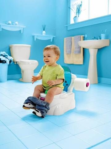 Mattel Fisher-Price P4326 - Meine erste Toilette, Töpfchen -