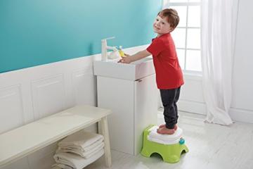 MultiWare 2 In 1 Lerntöpfchen Rosa Fisher Price Toilettentrainer Für Kinder Töpfchen Mit Musik und Fußbank - 8