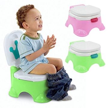 Töpfchen,Preup Babytöpfchen Kindertöpfchen Toilettentrainer Lerntöpfchen WC/Klo kindertopf mit musik - 2