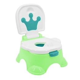 Töpfchen,Preup Babytöpfchen Kindertöpfchen Toilettentrainer Lerntöpfchen WC/Klo kindertopf mit musik - 1