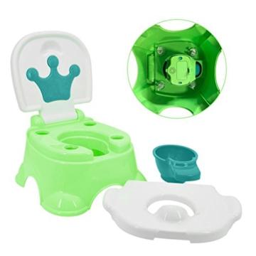 Töpfchen,Preup Babytöpfchen Kindertöpfchen Toilettentrainer Lerntöpfchen WC/Klo kindertopf mit musik - 7